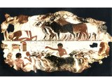 A cow herd from a wall mural of 18th Dynasty c 1400 BC